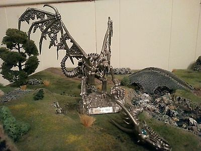 Rawcliffe pewter Ral Partha Dungeons Dragons AD&D D&D miniatures Dracolich OOP 1