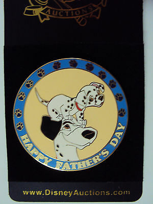 Disney Auction Pongo Father's Day Pin  HTF LE From 101 Dalmatians