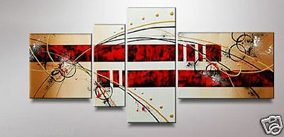 4pc Modern Abstract Huge Art Oil Painting Canvas (NO frame)P070