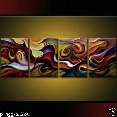 100% handcraft Modern Abstract Huge Art Oil Painting Canvas  (NO frame)P009