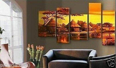 MODERN ABSTRACT HUGE WALL ART OIL PAINTING ON CANVAS (No frame)P103