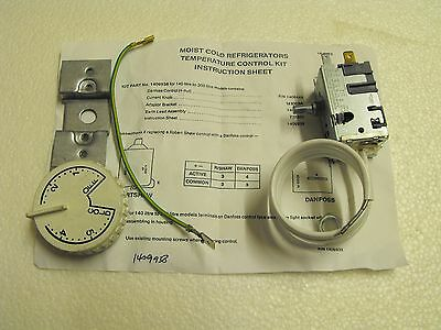 1409938: Westinghouse/Kelvinator Fridge Thermostat Kit Danfoss 077B6042 GENUINE