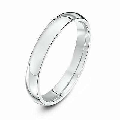Handmade 925 Sterling Silver 3 mm D Wedding Band, Midi or Thumb Ring Size H to Z