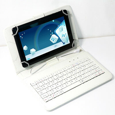 """NEW 7"""" Google Tablet PC Android 4.2 WIFI A23 Dual Core Cam Black 16GB+Keyboard"""
