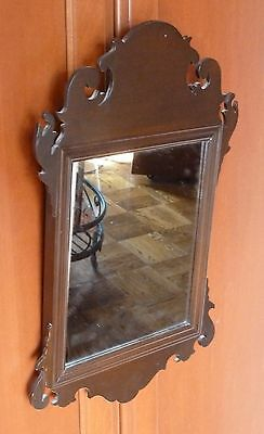 Beautiful Williamsburg Reproduction Wall Mirror  Virginia Metalcrafters  OLD!!