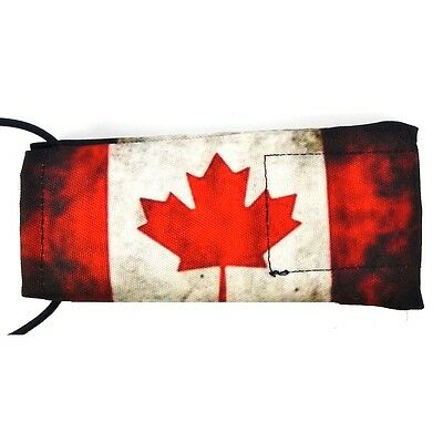 Wicked Sports Barrel Sock / Cover - Canadian Flag Distressed