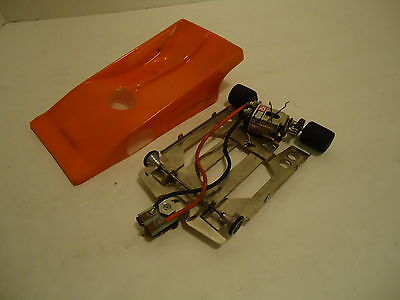 "1/24 ORANGE CAN AM HEAVY LEXAN,4.0"" W/B CHASSIS WITH PARMA MOTOR"