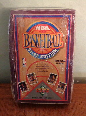 1991/92 Upper Deck Factory Sealed Basketball Box 36 Pack CLOSE-OUT ITEM