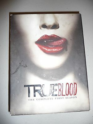 True Blood The Complete First Season 1 (DVD, 2009, 5-Disc Set)