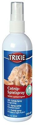 Natural Catnip Spray for Cats - Adds Life to Old Toys - 175 ml by Trixie
