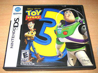 Toy Story 3: The Video Game Nintendo DS Lite 2DS DSi XL 3DS XL Complete