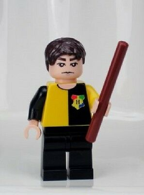 MB157 Lego CUSTOM INSPIRED TOURNAMENT CEDRIC DIGGORY MINIFIG Harry Potter Game