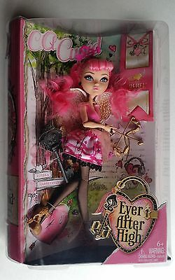 Ever After High C.A. Cupid Doll Monster High Crossover NIB with bookmark & Story