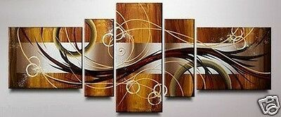 5pc Modern Abstract Huge Wall Decor Art Oil Painting On Canvas (NO frame)P064