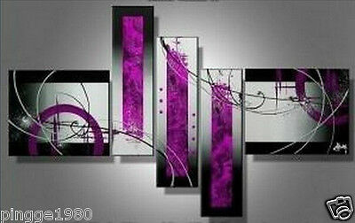 5pc Creative Modern Abstract Wall Decor Huge Oil Painting  (no framed) P010