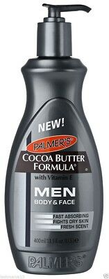 Palmer,s Cocoa Butter Formula With Vitamin E Men Body & Face Pump Lotion 400ml