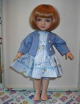 "A  ""SEWDOLLY""  ORIGINAL O/F FOR 10"" PATSY OR ANN ESTELLE DOLLS--NO DOLL INCLUDED"