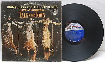 DIANA ROSS & THE SUPREMES LIVE AT LONDON'S TALK OF THE TOWN VINYL LP MOTOWN