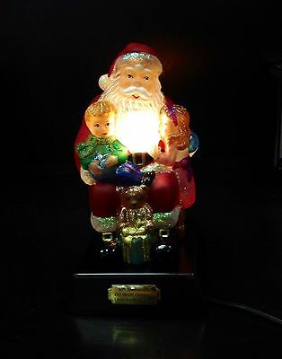 Old World Christmas Wishes and Dreams 2014 Santa Night Light NEW