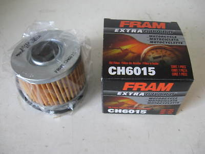 Fram CH6015 Oil Filter fits MANY Motorcycle Cycle ATV Powersport
