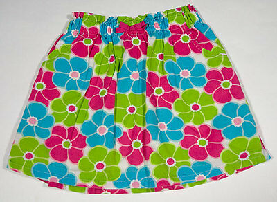 Gymboree Girls Size 6 Skirt  Ice Cream Sweetie Pink Blue Floral Flowers