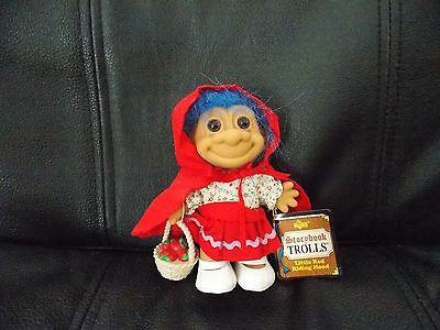 Russ Troll Little Red Riding Hood Storybook Doll With Tag