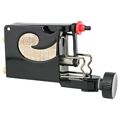 NEW Professional Rotary Tattoo Machine Gun Supply for Liner & Shader Black Color