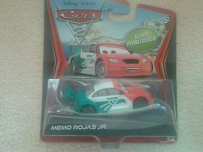 DISNEY CARS 2 ULTIMATE CHASE MEMO ROJAS JR  DIECAST VERY HARD TO FIND