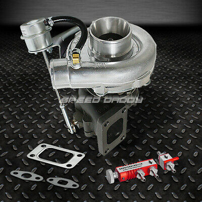 T04E T3/t4 A/r .63 57 Trim 400+Hp Stage Iii Boost Turbo Charger+Wg+Controller