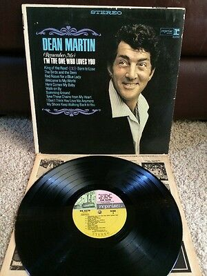 DEAN MARTIN (Remember Me) I'm The One Who Loves You Lp RS 6170 No Barcode NM