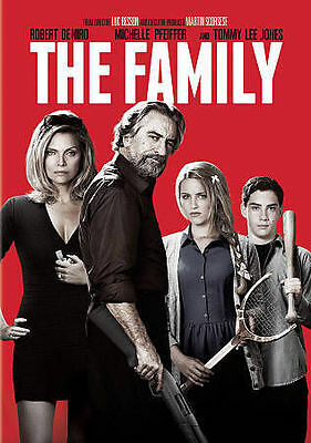 DVD THE FAMILY Robert DeNiro Michelle Pfeiffer Tommy Lee Jones Witness Protecton