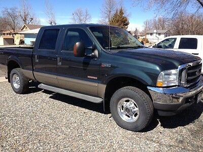 Ford : F-250 Lariat Crew Cab Pickup 4-Door 2004 ford f 250 super duty lariat crew cab pickup 4 door 6.0 l