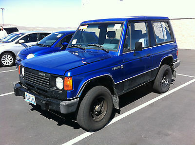 Dodge : Other base 1988 dodge raider 2 dr sport utility 4 x 4 4 cyl eng 5 sp worldwide shipping