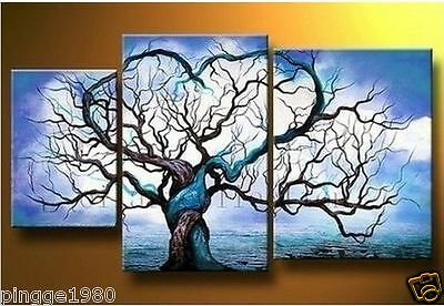 MODERN ABSTRACT HUGE WALL ART OIL PAINTING (no framed) P023