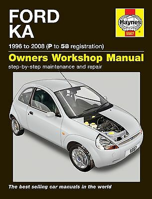 Haynes Manual 5567 Ford Ka 1.3i Petrol 1996 - 2002 NEW