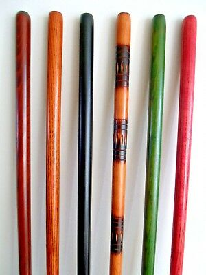 Shafts for Walking Stick Making Shanks Stickmaking Staff Wood Canes Blank Pack 6