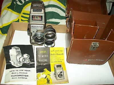 Bell and Howell 8mm Turret Movie Camera