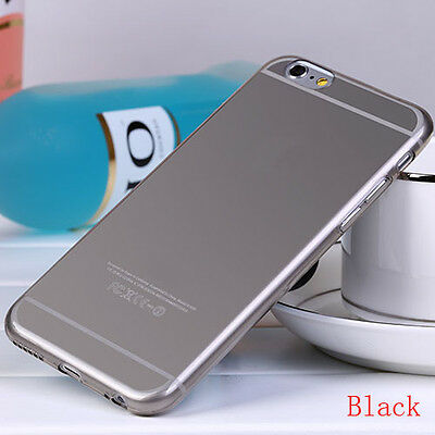"""Phone Case Cover Transparent Gray Skin Soft TPU Silicon Case for iPhone 6 4.7"""""""
