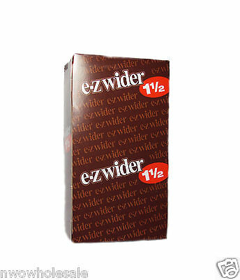 EZ-WIDER 1 1/2 (1.5) Rolling Papers 24 Booklet packs Brand New & Sealed