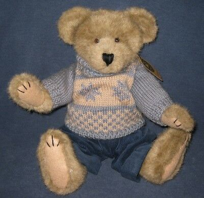 Mitchell Bearsdale #912615 Boyds Bear Plush 1999 Bearwear Retired EUC