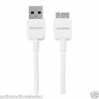 2X Samsung Original USB Data Charger Cable Samsung Galaxy Note 3, S5 3ft OEM