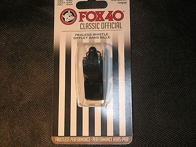 FOX 40 classic official whistle ***115 decibels*** Survival/Emergency/Safety