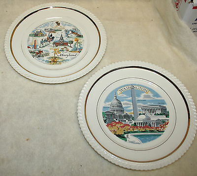 Collectible Souvenir State Collector Plates and Dishes #5