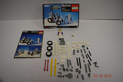 Lego Technic 8620  with box and Manual Vintage Action Set Artic Buggy Snow Bike