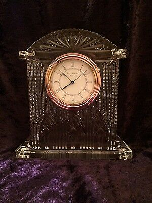 Waterford Crystal Westminster Clock
