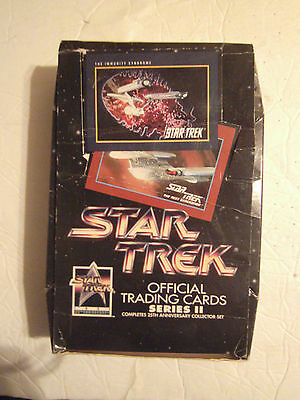 Star Trek 1991 series 2 the 25th anniversary collectors set  unopened box of 36