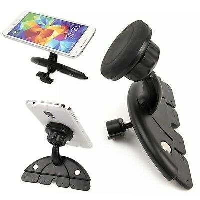 Universal Car CD Slot Stand Magnetic Pad Suction Mount Holder for Cell Phone New