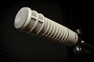 """Electro-Voice RE20 Large Diaphragm Microphone """"FLAWLESS CONDITION"""" EV RE-20"""