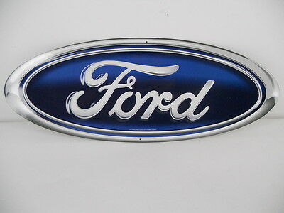 FORD OVAL LOGO DIE CUT WALL SIGN EMBLEM MUSTANG F150 FALCON PICKUP TRUCK BRONCO