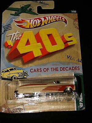 HOT WHEELS CARS OF THE DECADES 40'S...BRAND NEW 49 MERC
